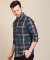 U.S. POLO ASSN. Men Checkered Casual Multicolor Shirt