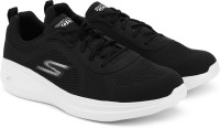Skechers Go Run Fast Quake Running Shoes For Men(Black)