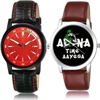 NEUTRON Treading 3D Design Sports And Apna Time Aayega Slim Watch 2 Watch Combo For Boys And Men - BRA26-B429 combo watch Analog Watch  - For Boys