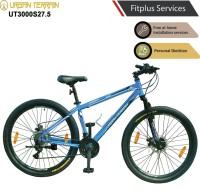 Urban Terrain UT3000S27.5 Steel MTB with 21 Shimano Gear and Installation services 27.5 T Mountain Cycle(21 Gear, Blue)