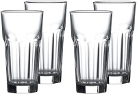 SH MART (Pack of 4) 500 ML Tumbler Glasses Juice Beer Whiskey and Cocktail Pack of (4) Glass Set(400 ml, Glass)