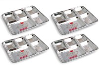 SAMRAT STAINLESS STEEL SAM_009_BHT Sectioned Plate(4 Sectioned Plate)