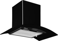 Sunflame Bella 60 cm Wall Mounted Chimney(Black 1100 CMH)