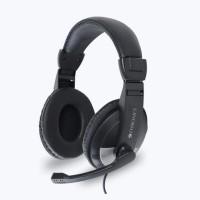 ZEBRONICS ZEB-200HM MULTIMEDIA HEADPHONE WITH MIC Wired Headset(Black, On the Ear)