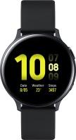 SAMSUNG Galaxy Watch Active 2 Aluminium LTE Smartwatch(Black Strap, Regular)