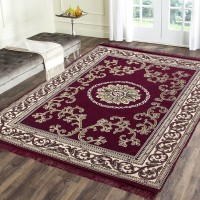 BELLAGENCE Multicolor Cotton Carpet(137 cm  X 183 cm)