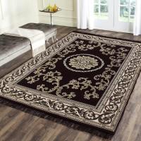 ARAMIDA Brown Cotton Carpet(137 cm  X 183 cm)