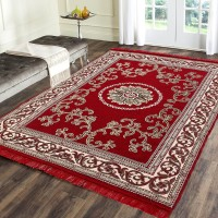 ARAMIDA Red Cotton Carpet(137 cm  X 183 cm)