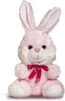 Miss & Chief Sitting Bunny  - 17 cm(Multicolor)