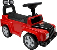 LuvLap Jeep Battery Operated Ride On(Black, Red)
