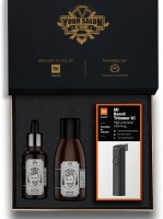 The Man Company Beard Kit with Mi Beard Trimmer 1C (Your Salon at Home)  Runtime: 60 min Trimmer for Men(Black)