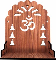 Wallwey décor Engineered Wood Home Temple(Height: 33, DIY(Do-It-Yourself))