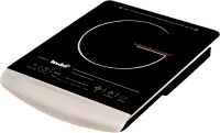 Indo IC-444 Induction Cooktop(Black, Silver, Touch Panel)