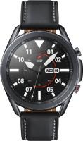 SAMSUNG Galaxy Watch 3 45 mm LTE Smartwatch(Black Strap, Regular)