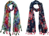 FABS Collection Printed Polycotton Girls Scarf, Stole, Fancy Scarf