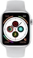 Izefia W26 Smart Watch Smartwatch(White Strap, Large)
