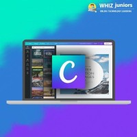 WhizJuniors Canva eLearning For Kids Age 6 -18 - 1 Year Subscription - ( Voucher ) Vocational & Personal Development(Voucher)