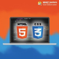 WhizJuniors HTML5 & CSS3 eLearning For Kids Age 6 -18 - 1 Year Subscription - ( Voucher ) School(Voucher)