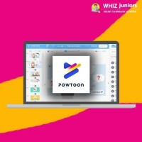 WhizJuniors Powtoon eLearning For Kids Age 6 -18 - 1 Year Subscription - ( Voucher ) Vocational & Personal Development(Voucher)