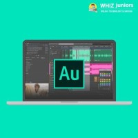 WhizJuniors Adobe Audition eLearning For Kids Age 6 -18 - 1 Year Subscription - ( Voucher ) Vocational & Personal Development(Voucher)
