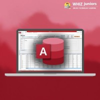 WhizJuniors Microsoft Access eLearning For Kids Age 6 -18 - 1 Year Subscription - ( Voucher ) Vocational & Personal Development(Voucher)