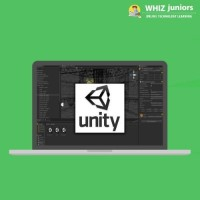 WhizJuniors Unity 3d eLearning For Kids Age 6 -18 - 1 Year Subscription - ( Voucher ) Vocational & Personal Development(Voucher)