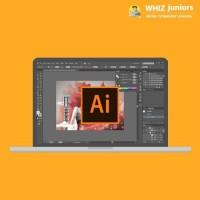 WhizJuniors Adobe Illustrator Basics & Advance eLearning For Kids Age 6 -18 - 1 Year Subscription - ( Voucher ) Vocational & Personal Development(Voucher)