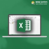 WhizJuniors Microsoft Excel Basics & Advance eLearning For Kids Age 6 -18 - 1 Year Subscription - ( Voucher ) Vocational & Personal Development(Voucher)