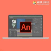 WhizJuniors Adobe Animate Basics & Advance eLearning For Kids Age 6 -18 - 1 Year Subscription - ( Voucher ) Vocational & Personal Development(Voucher)