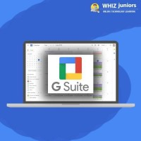 WhizJuniors Google Suite eLearning Pack For Kids Age 6-18 & Above - 1 Year Subscription -(Voucher) Vocational & Personal Development(Voucher)