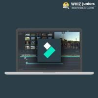 WhizJuniors Filmora eLearning For Kids Age 6 -18 - 1 Year Subscription - ( Voucher ) Vocational & Personal Development(Voucher)