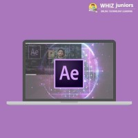 WhizJuniors Adobe After Effects Basics & Advance eLearning For Kids Age 6 -18 - 1 Year Subscription - ( Voucher ) Vocational & Personal Development(Voucher)