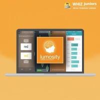 WhizJuniors Lumosity eLearning For Kids Age 6 -18 - 1 Year Subscription - ( Voucher ) Vocational & Personal Development(Voucher)