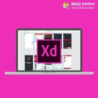 WhizJuniors Adobe XD eLearning - 1 Year Subscription For Kids Age 6 -18 - ( Voucher ) Vocational & Personal Development(Voucher)