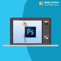 WhizJuniors Adobe Photoshop Basics & Advance eLearning For Kids Age 6 -18 - 1 Year Subscription - ( Voucher ) Vocational & Personal Development(Voucher)