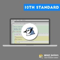 WhizJuniors BLUEJ Java-10th Std eLearning For Kids Age 6 -18 - 1 Year Subscription - ( Voucher ) School(Voucher)