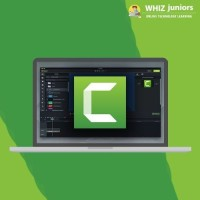 WhizJuniors Camtasia eLearning For Kids Age 6 -18 - 1 Year Subscription - ( Voucher ) Vocational & Personal Development(Voucher)