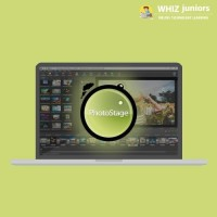 WhizJuniors PhotoStage eLearning For Kids Age 6 -18 - 1 Year Subscription - ( Voucher ) Vocational & Personal Development(Voucher)