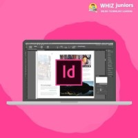 WhizJuniors Adobe Indesign Basics & Advance eLearning For Kids Age 6 -18 - 1 Year Subscription - ( Voucher ) Vocational & Personal Development(Voucher)
