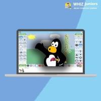 WhizJuniors Tux Paint eLearning For Kids Age 6 -18 - 1 Year Subscription - ( Voucher ) Vocational & Personal Development(Voucher)