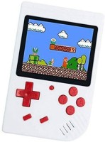 TOHUBOHU SUP USB Rechargeable Handheld Game Console, Classic Retro Video Gaming Player Colorful LCD Screen USB Rechargeable Portable Game Console with 400 in 1 Classic Old Games Best Toy Gift for Kids 1 GB with Mario/Super Mario/DR Mario/Contra/Turtles & Other 400+ Games(White)