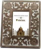 VINTAN VT-0006 4 inch Photo Frame with Glass(2 GB, White Distress Finish)