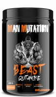 Man Mutation BEAST GLUTAMINE Glutamine(200 g, Unflavored)