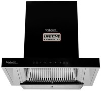 Hindware ALICIA PLUS 60 AUTO CLEAN CHIMNEY Auto Clean Wall Mounted Chimney(Black 1200 CMH)