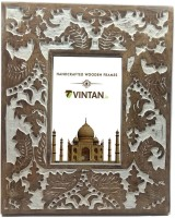 VINTAN VT-0012 4 inch Photo Frame 4x6(2 GB, White)