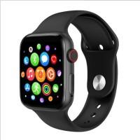 Cloud BX-562 T500 Smartwatch Aluminium Case Smartwatch(Black Strap, Free Size)