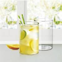 Borosil (Pack of 6) ( Ardh Sainik Foundation ) Vision Glass Medium - 295ml set of 6 Glass Set