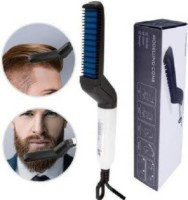 unique mart Men Quick Beard Straightener Hair Comb Hair Straightener Hair Styler(Black)