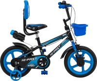 Hi-Fast Kids cycles For 2 Years to 5 Years Semi Assembled 14 T BMX Cycle(Single Speed, Blue)