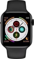 Max T55 Smart Watch Smartwatch(Black Strap, 44)